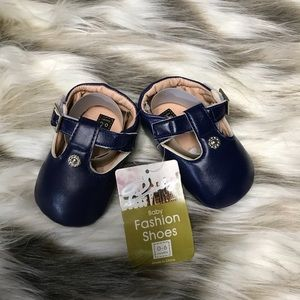 Other - 3 for $25 Navy Blue Baby Shoes Size 0-6 Months